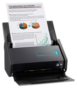 is really a capable and likeable document scanner for personal or small office use Fujitsu ScanSnap iX500 Scanner Driver Download