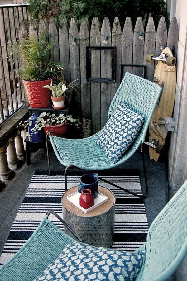 7 Ideas For Decorating Balconies or Terraces 10