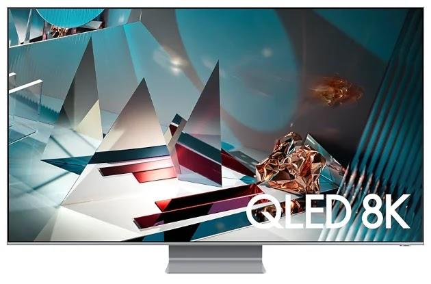 شاشة QLED من سامسونج بدقة 8k