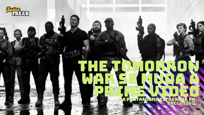The Tomorrow War, la Mercenarios de Chris Pratt, llegará en exclusiva a Amazon Prime Video