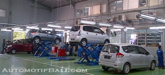Bengkel Suzuki di Bali