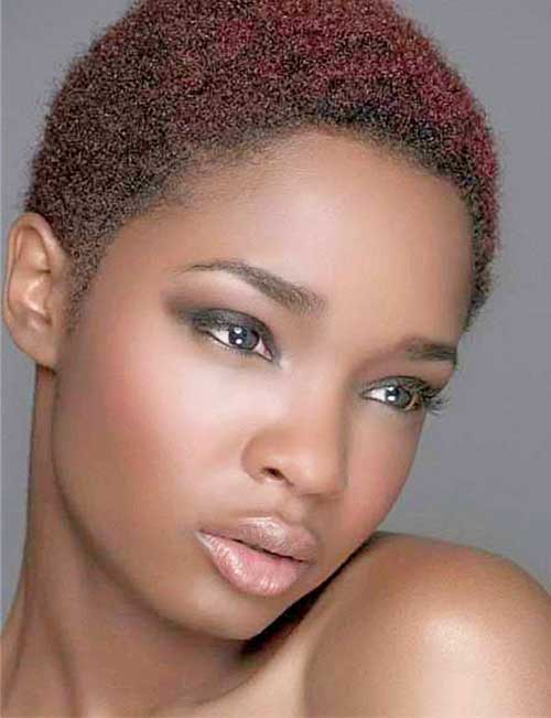Short Natural Hairstyle for Black Women Jere Haircuts