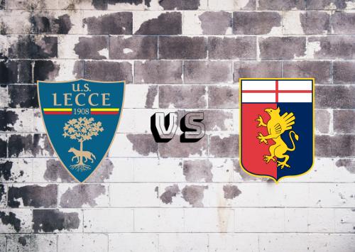 Lecce vs Genoa  Resumen