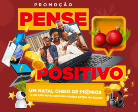 Cadastrar Promoção Positivo Natal 2020 Pense Positivo Contas Pagas 1 Ano e Prêmios Hora 200 Reais