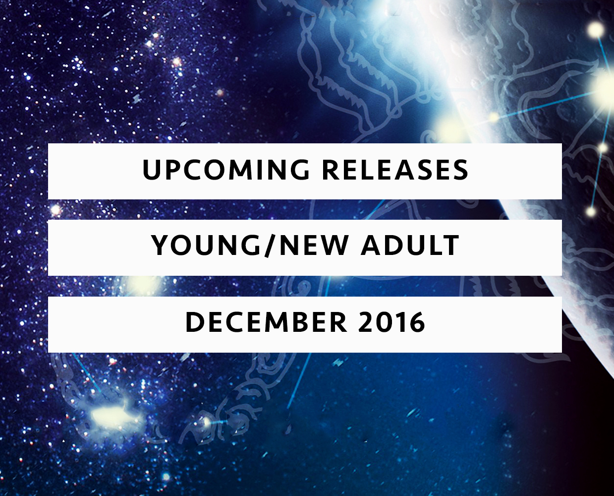 upcoming releases december 2016 ya