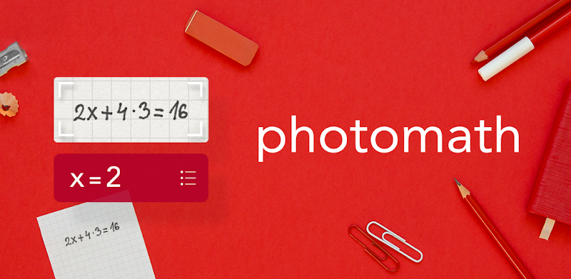 Download Photomath Application for Maths Solutions