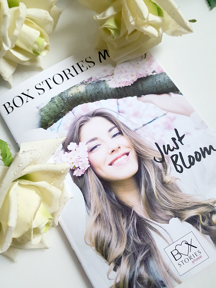 BOX STORIES by gofeminin - Just Bloom   monatliches Magazin mit Tipps, Tricks & Hacks