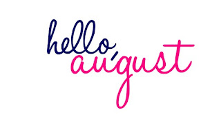 Happy new month August greetings