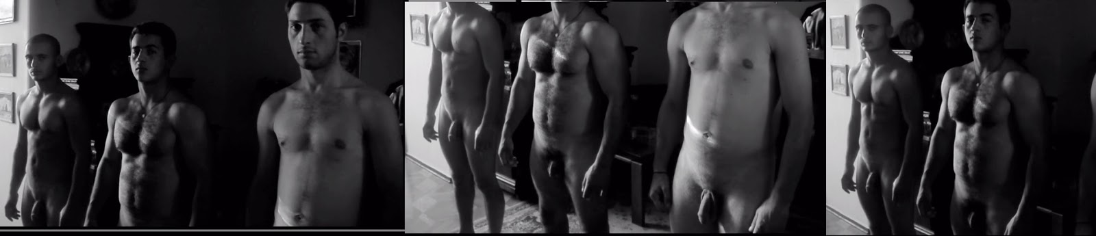 naked hunks in movie