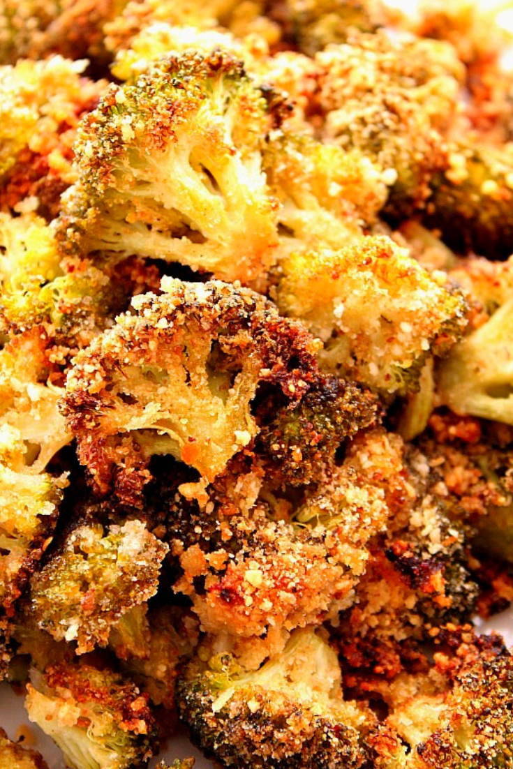 The Best Garlic Parmesan Roasted Broccoli Recipe