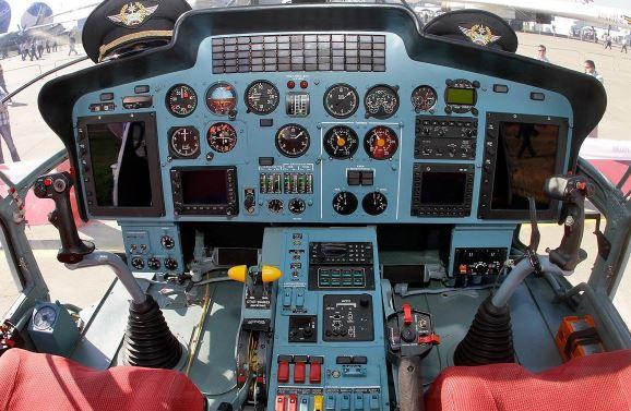 Kamov Ka-31 Helix cockpit