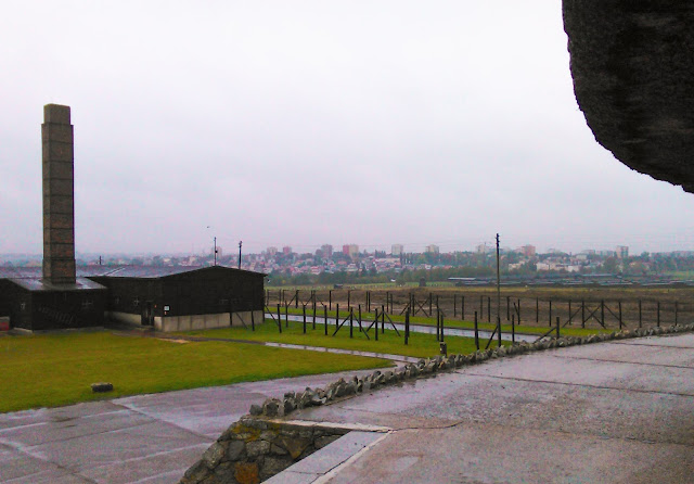 Majdanek, mauzoleum, widok