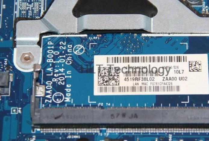 LA-B001P Rev1.0 ZAA00 Lenovo All in one C260 Bios