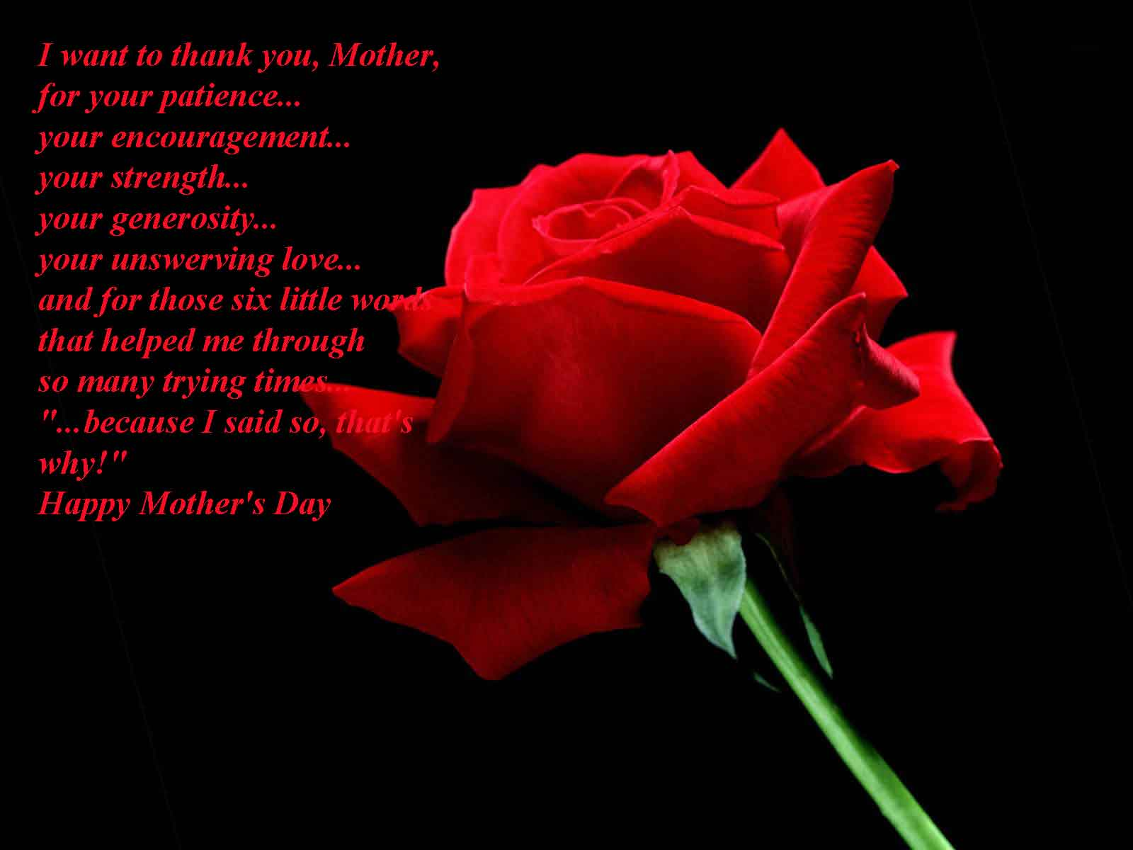 What Would Be Your Mothers Day Message For Your Mom
