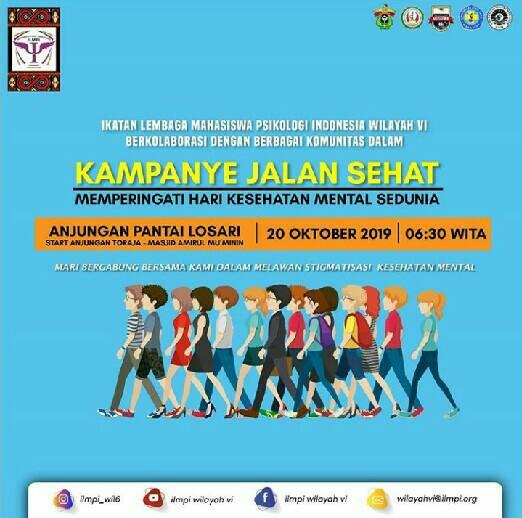 Ilmpi Bersama Komunitas Di Makassar Merayakan Hari Kesehatan Mental Sedunia Lpm Psikogenesis