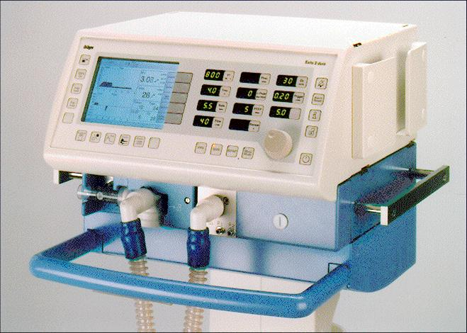 Drager Evita 2 Ventilator Service Manual