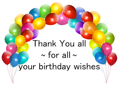 Thank you for the birthday wishes thank you everyone for the birthday wishes m4hsunfo Images