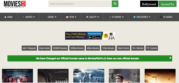 Top 4 Movie downloading website for free