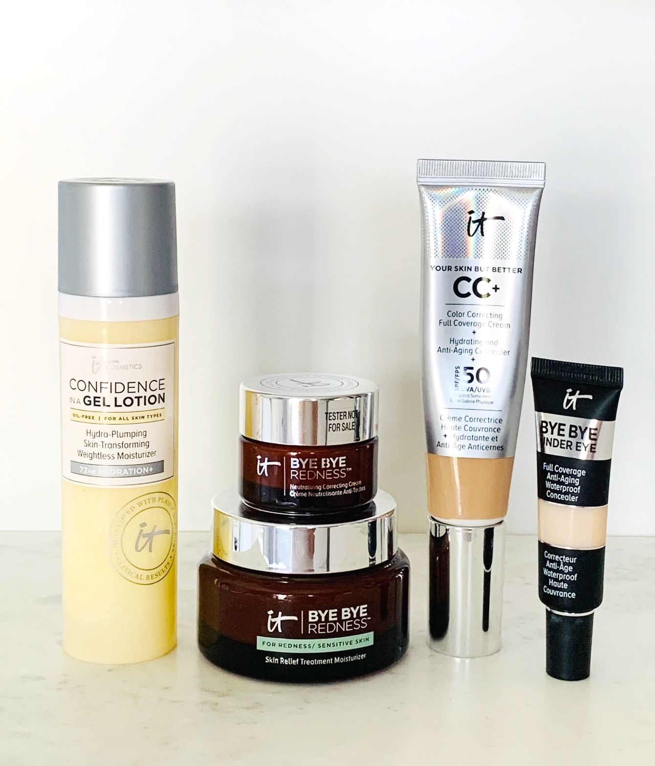 Rosacea month - the best products to use from IT Cosmetics to treat and hide it