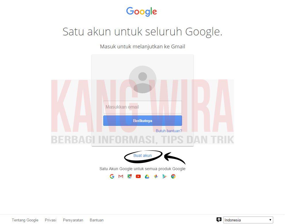 Cara Daftar Gmail