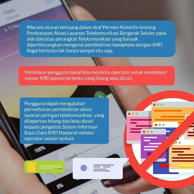 cara Blokir HP yang Hilang dengan IMEI