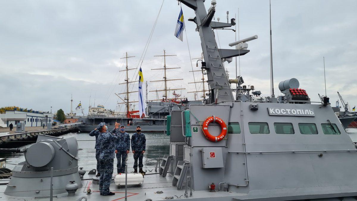 Екіпаж Костополя допущено до самостійного виконання завдань у морі