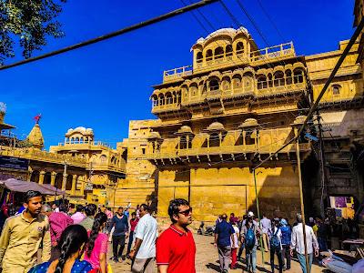 Jaisalmer fort inside view