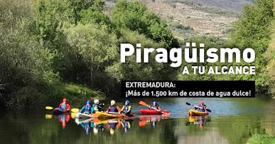 piraguismo y kayak en el Valle del Jerte