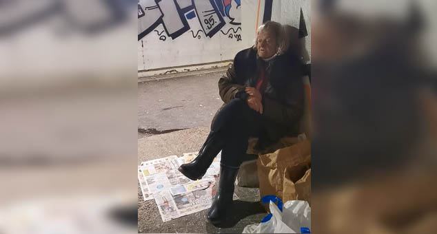 #Жена #Бескучник #Улица #Зима #социјално #Социјала #хуманост #Полиција #Косово; #Метохија #Вести #Kosovo #Metohija #vesti #RTS #Kosovoonline #TANJUG #TVMost #RTVKIM #KancelarijazaKiM #Kossev