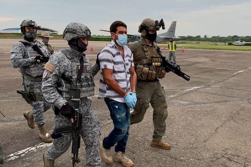 Los capturados fueron trasladados a Yopal, Casanare, puestos a disposición de las autoridades competentes