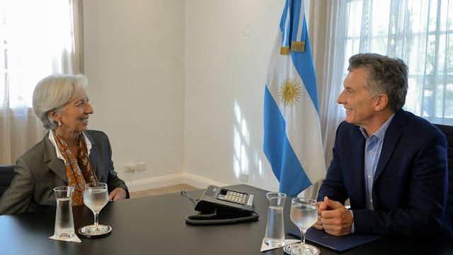 El presidente Macri recibió a la directora del FMI, Christine Lagarde