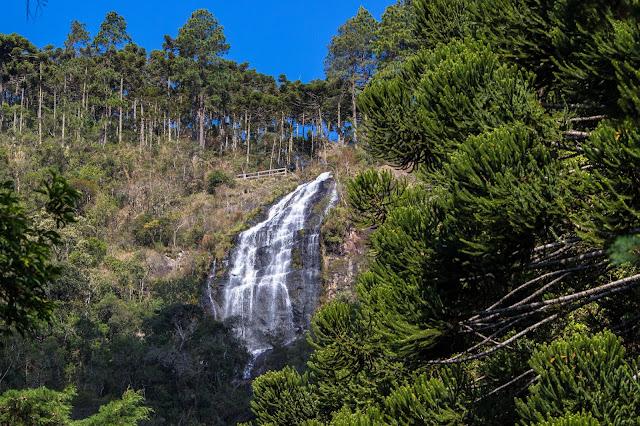 Cachoeira do Toldi, em São Bento do Sapucaí, na Serra da Mantiqueira