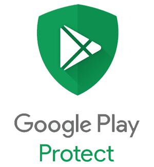 شعار Google Play Protect