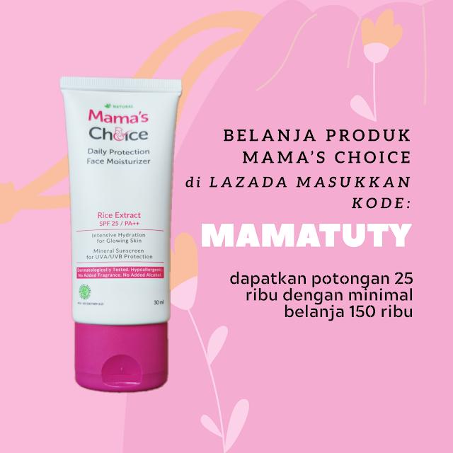 Kode promo Mama's Choice di LAZADA