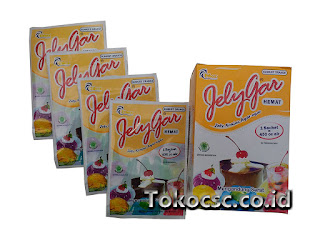 Jelly Powder Jelygar Hemat Sunkist Orange