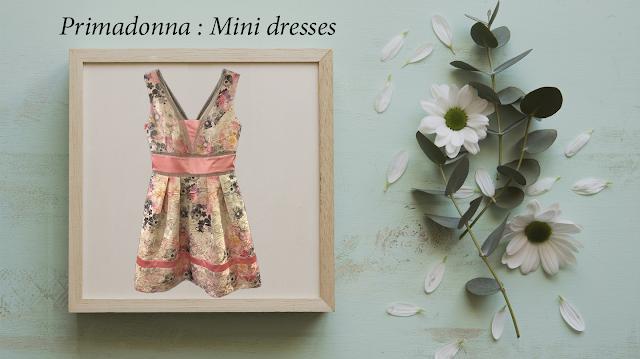 Κοντά φορέματα Primadonna σε Α γραμμή