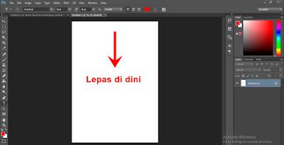 Menambah gambar di Photoshop