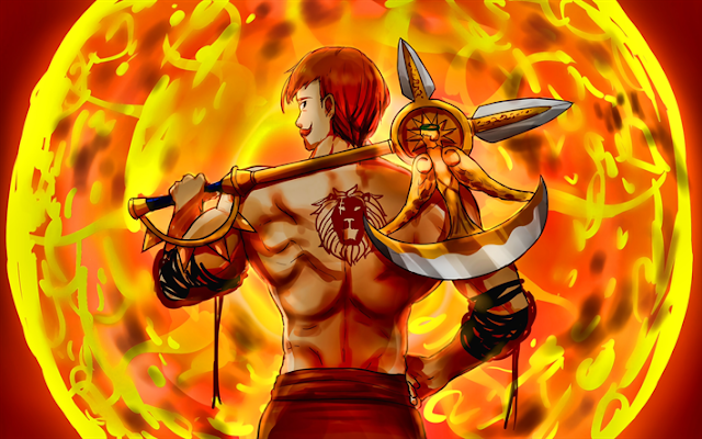 ESCANOR  | The Strongest Characters of The Seven Deadly Sins: Nanatsu no Taizai
