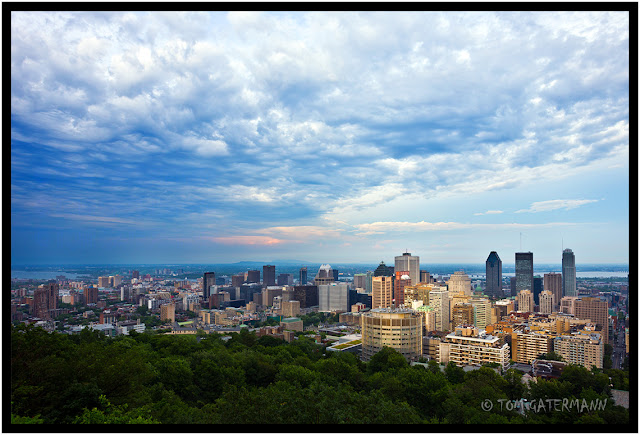 The Montréal Skyline From Mont-Royal.