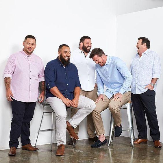 Moda para hombres gordos