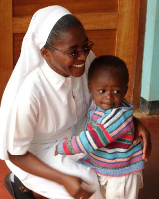 Sr. Agape and orphan child
