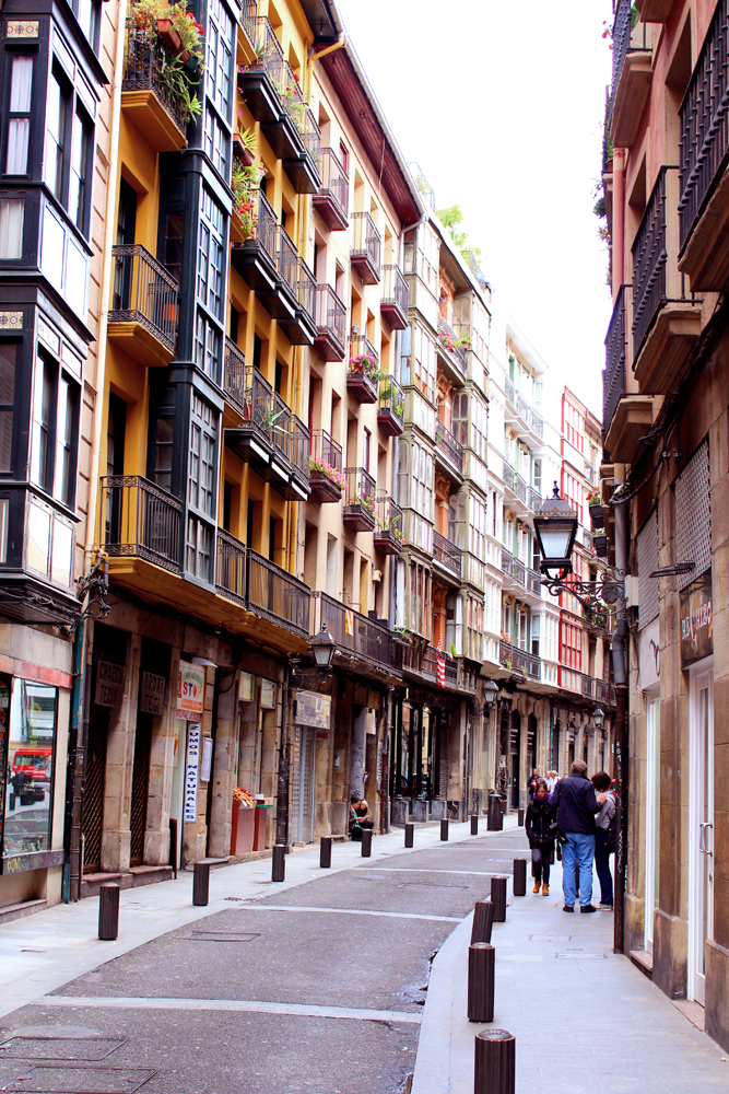 Streets in Bilbao, Spain - London travel blog