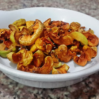 Dried Apples, Dried Fruits, Sweet, Sour, Food