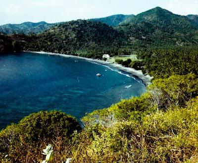 wisata pantai malimbu lombok