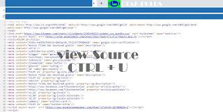 Cara Mudah Melihat Source Code Pada Blog
