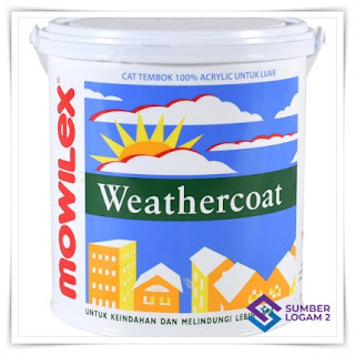 Cat tembok eksterior terbaik Mowilex Weather Coat
