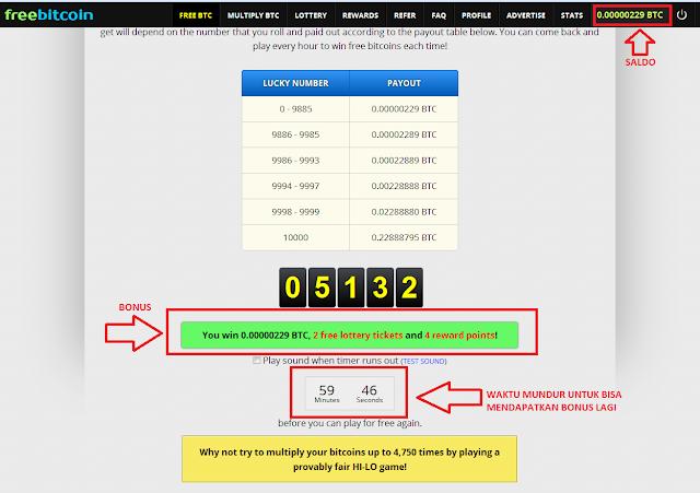 3 - Cara mudah mendapatkan bitcoin gratis