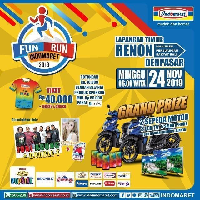Fun Run Indomaret - Bali • 2019