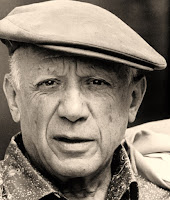 Pablo Picasso, one of the greatest artists of all time, cubist and post impressionist painter.
