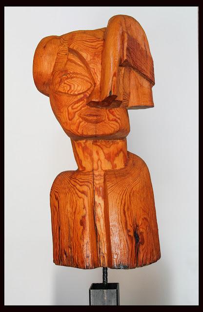 Escultura talla en madera